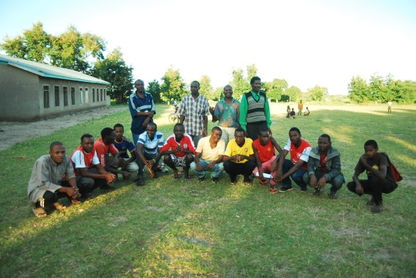 Project Committee and the Village Soccer Team
