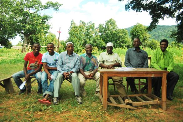 Project Committee Members and Village Government